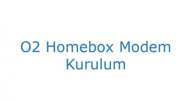 O2 Homebox Modem